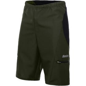 Santini Bosco MTB Shorts Men verde militare